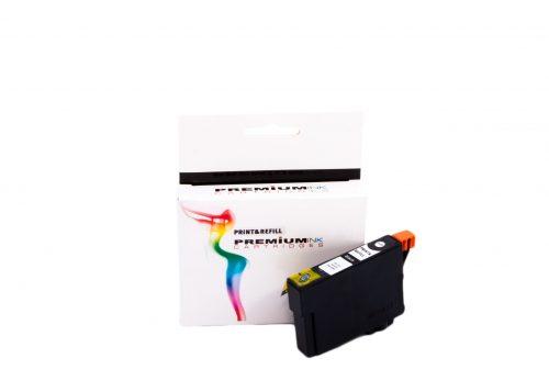 Premium T0711 musta yhteensopiva mustekasetti