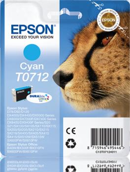 Epson T0712 syaani mustekasetti