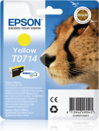 Epson T0714 keltainen värikasetti
