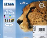 Epson T0715 4-väripaketti mustekasetteja