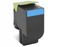 Lexmark 802HC syaani riittoisa palautusohjelma-värikasetti