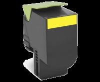 Lexmark 802HY keltainen riittoisa palautusohjelma-värikasetti