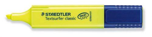 Korostuskynä Staedtler keltainen 1-5 mm