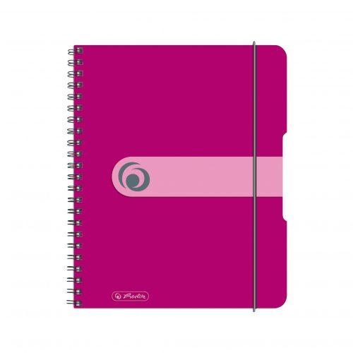 Kierrevihko A5 Easy Organizer pinkki