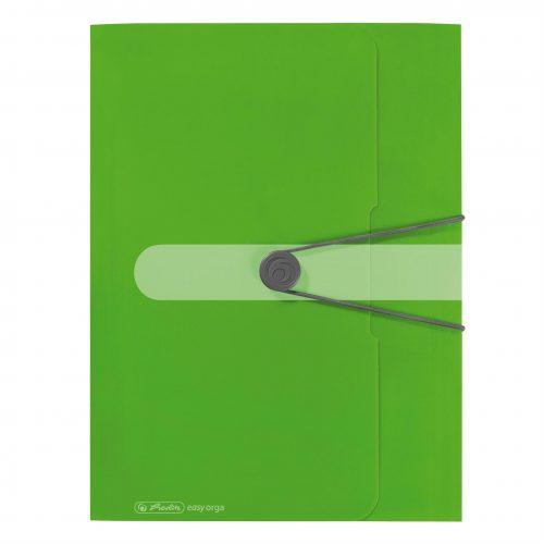 Kulmalukkokansio Easy Organizer vihreä