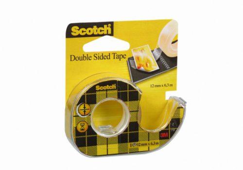 Teippi kaksipuoleinen 3M Scotch 12mm x 6,3m