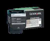 Lexmark C544/X544 musta extrariittoisa palautusvärikasetti