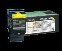 Lexmark C544/X544 keltainen extrariittoisa palautusvärikasetti