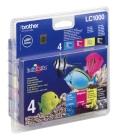 Brother LC1000 4-väripaketti mustekasetteja