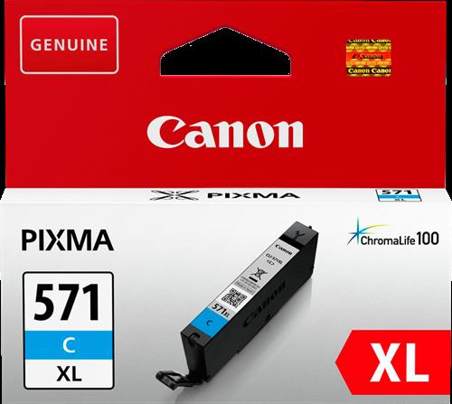 Canon CLI-571C XL syaani mustekasetti