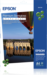 Epson Premium Semigloss Photo Paper A4 251g (20)