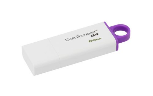 Kingston 64 GB DataTraveler G4 USB 3.0 –muistitikku