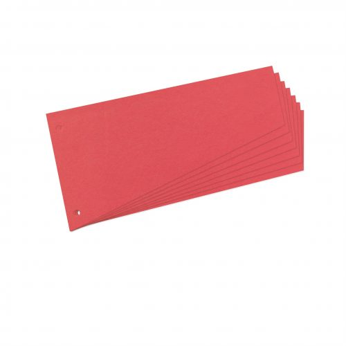 Hakemistokieleke 12x32 cm 190g (100) vaalean punainen