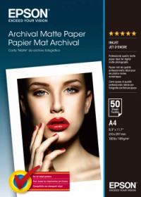 Epson Archival Matte Paper A4 189g (50)