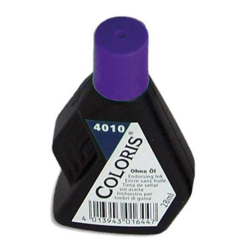 Kumileimasinväri Coloris 4010 violetti 28 ml