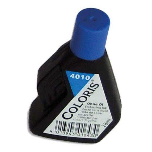 Kumileimasinväri Coloris 4010 sininen 28 ml
