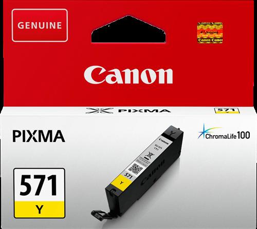 Canon CLI-571Y keltainen mustekasetti