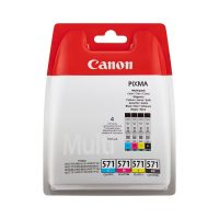 Canon CLI-571 4-väripaketti mustekasetteja