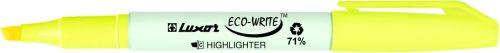 Korostuskynä Luxor Eco-Write 1-3,5 mm keltainen