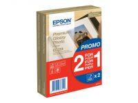 2 x Epson Premium Glossy Photo Paper 10x15