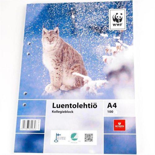 Luentolehtiö A4 WWF