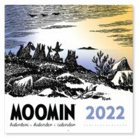 Seinäkalenteri 2022 Muumi