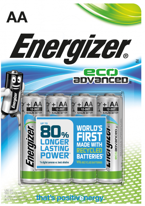 AA paristo Energizer EcoAdvanced