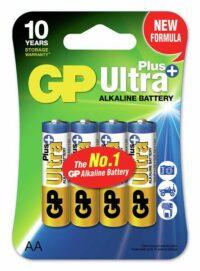 GP Ultraplus alkaliparisto AA / LR06 (4)