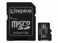 KINGSTON 128GB micSDXC Canvas Select Plus 100R A1 C10 muistikortti
