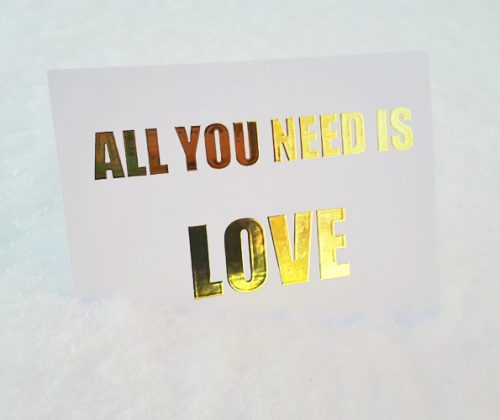 kortti all you need is love