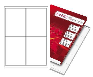 Label Media monitoimitarra A4 4-osainen (100)