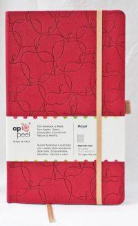 MuistikirjaA5 Appeel punainen