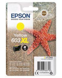 Epson 603 XL keltainen mustekasetti