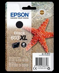 Epson 603 XL musta mustekasetti