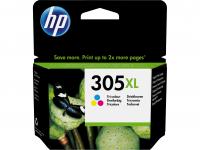 HP 305 XL 3-väri mustekasetti