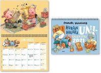 Seinäkalenteri Mauri Kunnas 2021
