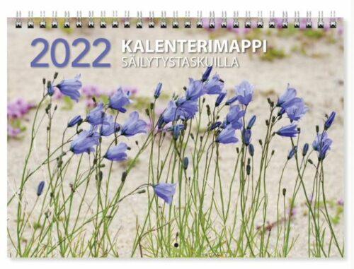 Kalenterimappi säilytystaskulla 2022
