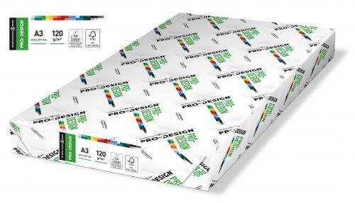 Tulostuspaperi A3 120 g Pro Design