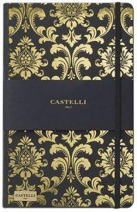 MUISTIKIRJA Castelli Baroque Gold 13 x 21