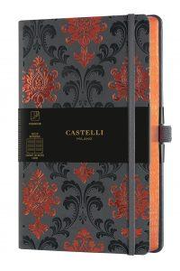 MUISTIKIRJA Castelli Baroque Copper Cast 13 x 21 cm