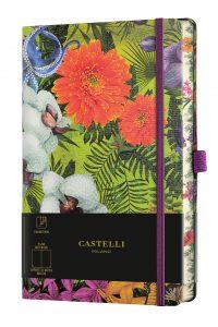 MUISTIKIRJA Castelli Eden Orchid 13 x 21