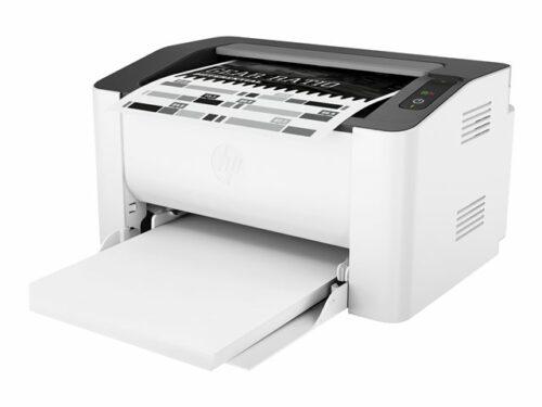 HP Laser 107a mustavalkolasertulostin paperinsyöttö