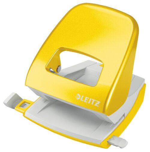 Lävistäjä Leitz 5008 metallia keltainen