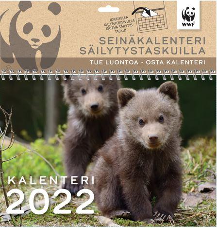 Seinäkalenteri kalenterimappi 2022 WWF
